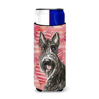 Love a Scottish Terrier Michelob Ultra Hugger for slim cans