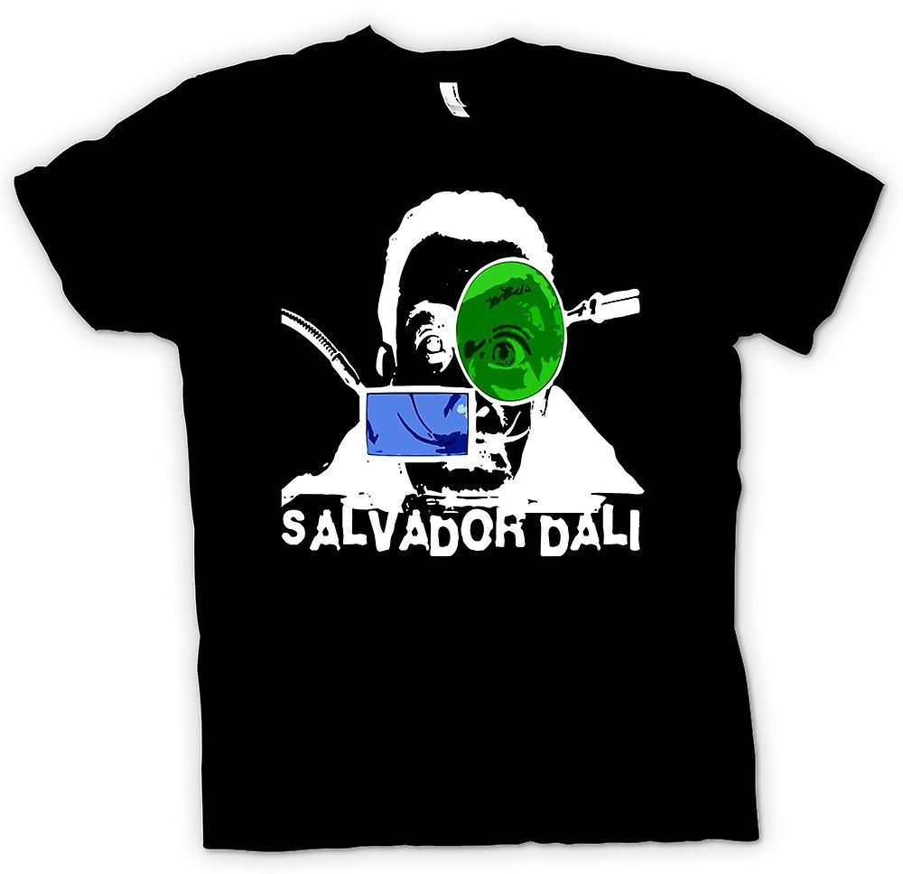 Womens T-shirt - Salvador Dali - Artist - surrealistiska