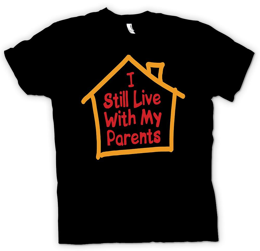 Kids T-shirt - I Still Live With My Parents - Quote