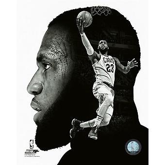 LeBron James PROfile Photo Print