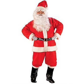 Santa dräkt Deluxe kostym