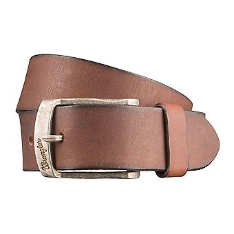 WRANGLER belt leather belts men's belts Brown 2886