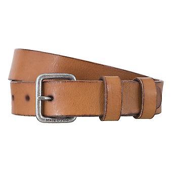 Marc O ´ Polo belts men's belts leather belt Cognac 4934