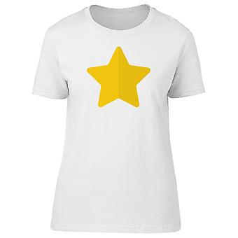 A Simple Yellow Heart Tee Women's -Image by Shutterstock
