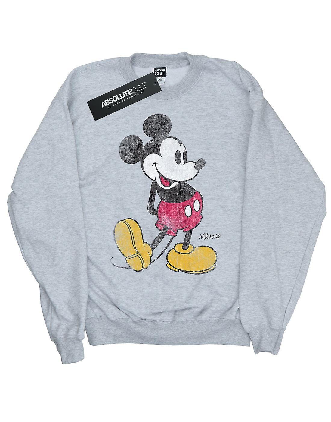 4f9cb1fcc1 Disney Girls Mickey Mouse Classic Kick Sweatshirt   Fruugo