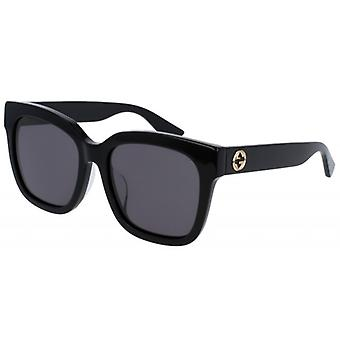 Gucci Black Square Ladies Sunglasses - GG0034SA-001
