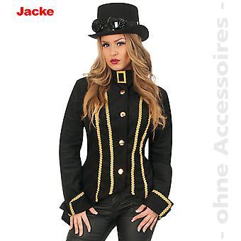 Steampunk costume ladies Womens jacket Admiral Captain uniform ladies costume
