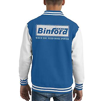 Binford Tools Home Verbesserung Kid Varsity Jacket