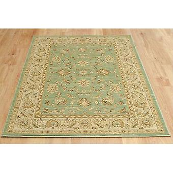 Ziegler 7709 Light Green Cream  Rectangle Rugs Traditional Rugs