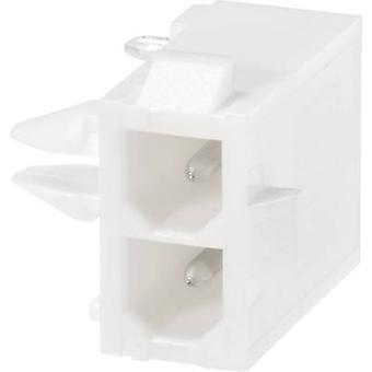 Armoire de TE Connectivity Pin - nombre Total de PCB Mini-universel-MATE-N-LOK de broches 3 1-770967-0 1 PC (s)