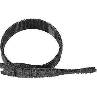 VELCRO® ONE-WRAP Strap® Hook-and-loop cable tie for bundling Hook and loop pad (L x W) 200 mm x 20 mm White 1 pc(s)