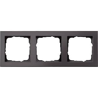GIRA 3x Frame E2, Standard 55 Anthracite