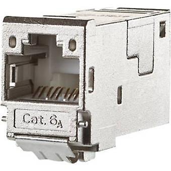 RJ45 module E-DAT CAT 6A Metz Connect 130910-I