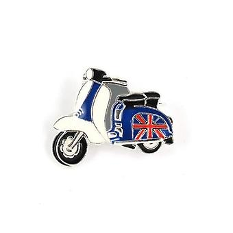 Union Jack Wear Union Jack Scooter Pin Badge / Brooch