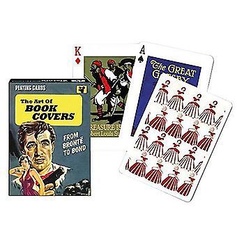 Kunst van het boek dekt Set speelkaarten + Jokers