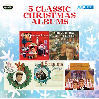 Five Classic Christmas Albums (Elvis's Christmas Album / The 25th Day Of December / Merry Christmas From Bobby Vee / The Four Seasons Greetings / Christmas With The Everly Brothers) by Everly Brothers