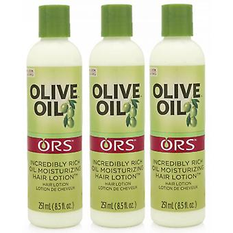 Organic Root Stimulator Olive Oil Incredibly Rich Oil Moisturizing Hair Lotion (3-Pack)