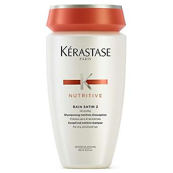Kerastase Nutritive Bain Satin 2 Nutritive Shampoo 250 ml (Hair care , Shampoos)