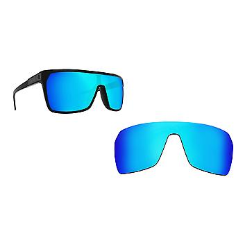 Flynn Replacement Lenses Polarized Blue Mirror by SEEK fits SPY OPTICS