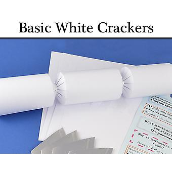 Basic White Make & Fill Your Own Cracker Making Craft Kits & Boards