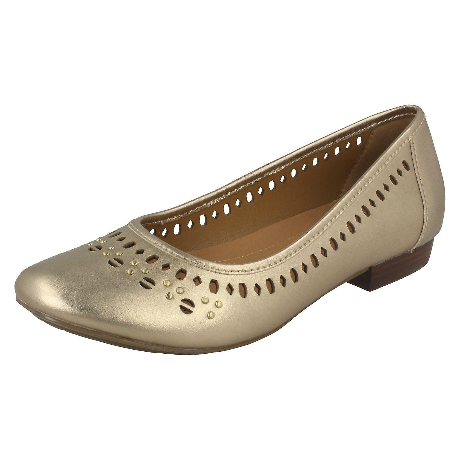 Clarks Ladies piatto balletto stile scarpe Henderson caldo   Abbiamo ricevuto lodi dai nostri clienti.    Uomini/Donna Scarpa