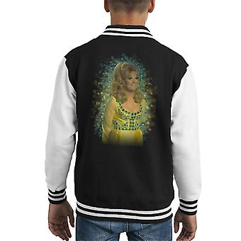 TV Zeiten Dusty Springfield Flare Glow Effekt Kid Varsity Jacket
