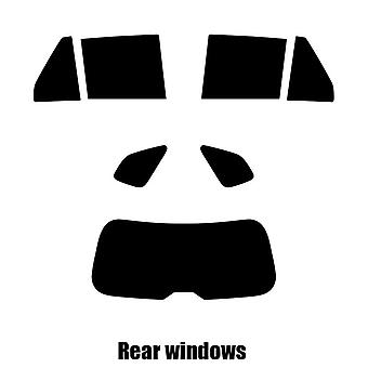 Pre cut Fenster Farbton - Kia Rondo - 2007 bis 2013 - hinten windows