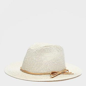 New Peter Storm Women's Travel Summer Panama Hat Beige