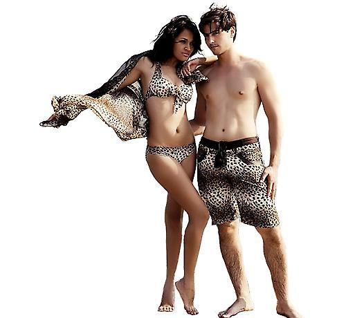 Waooh - Plage - Sarong imprimé léopard