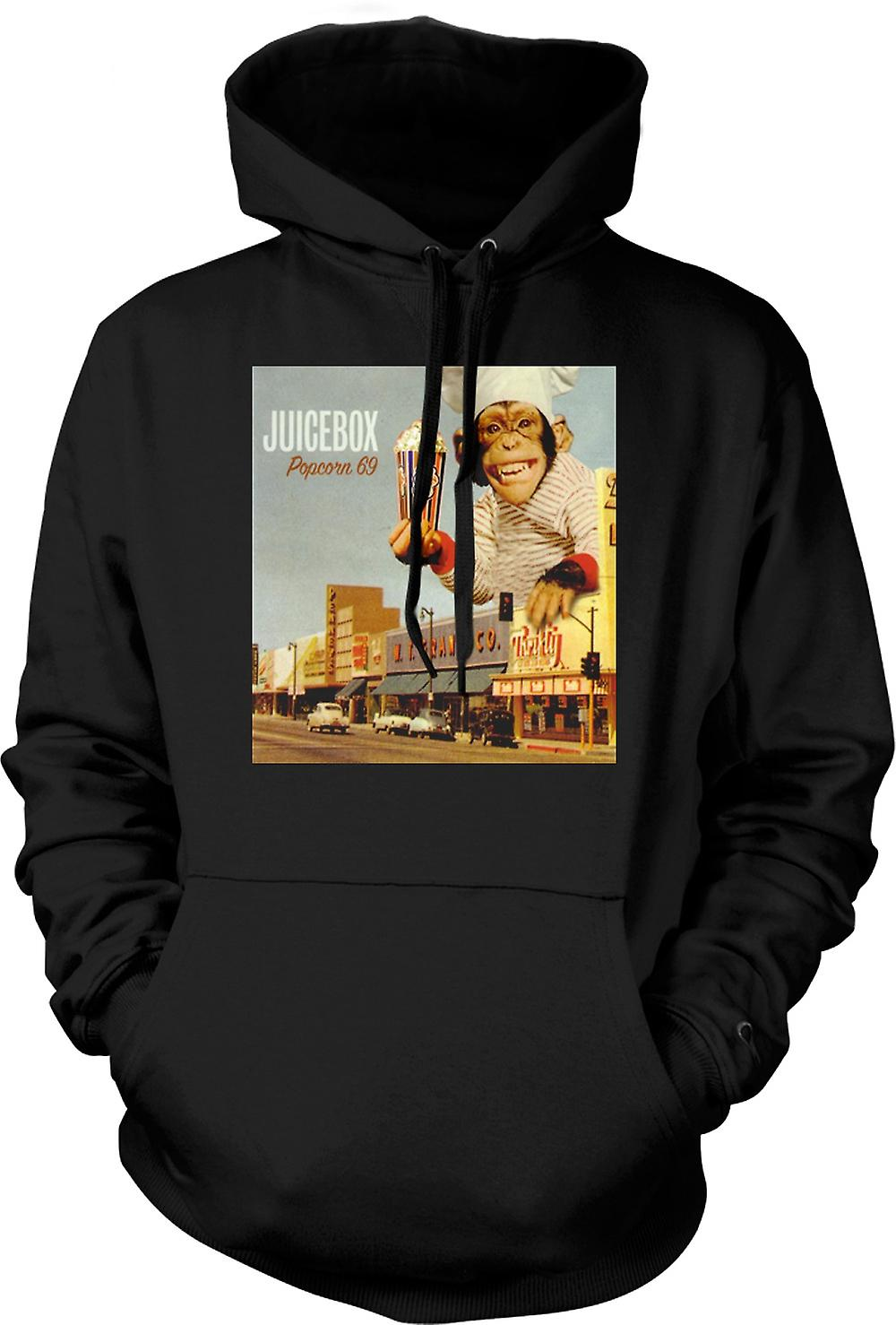 Mens Hoodie - Juicebox Popcorn 69 - Soul Band
