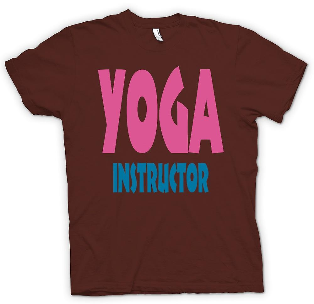Herr T-shirt - Yoga instruktör Martial Art - Slogan