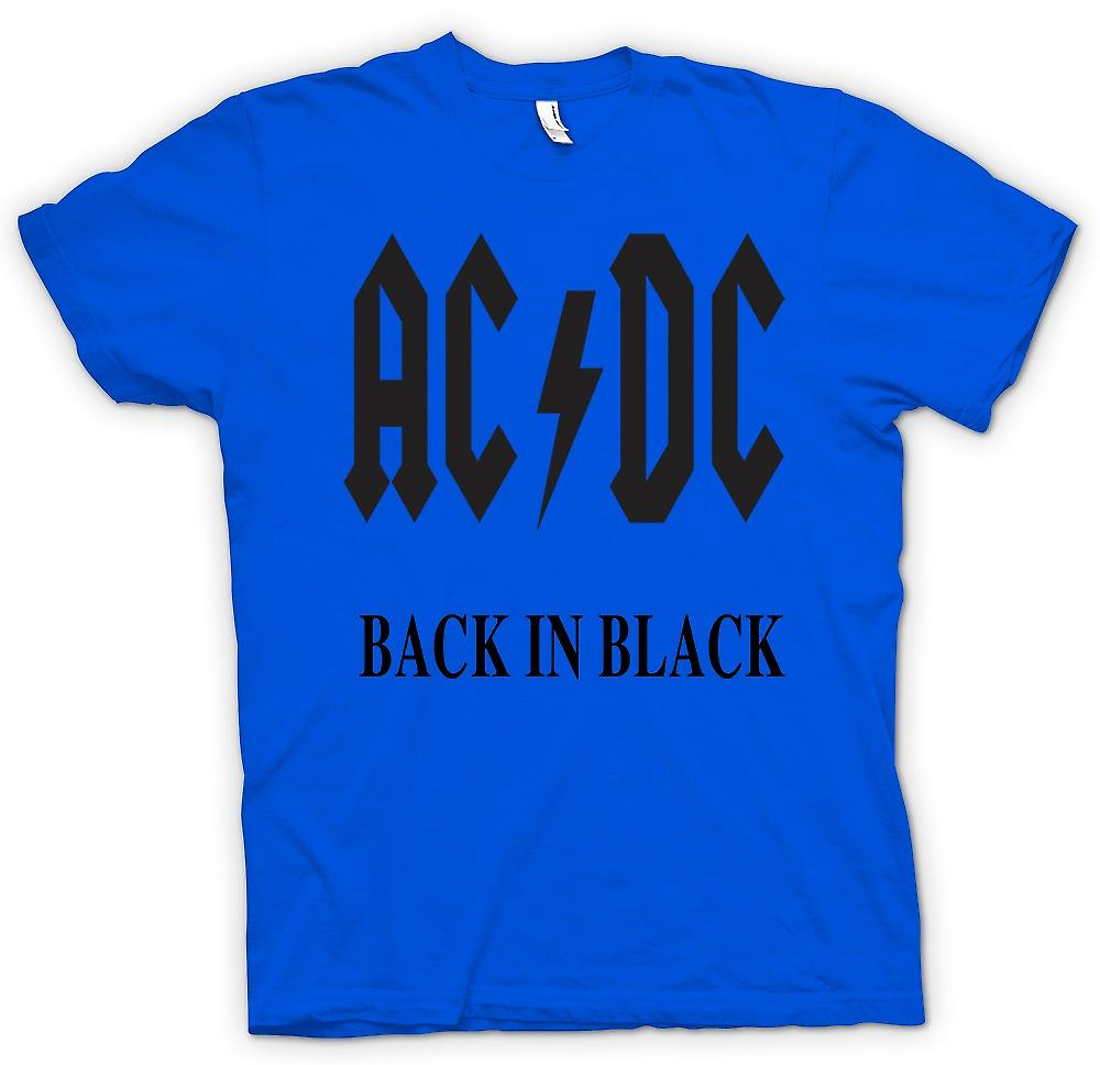 Mens t-shirt-AC/DC Back In Black