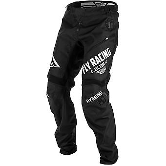 Fly Racing nero-bianco 2018 cinetica Kids MTB Pant