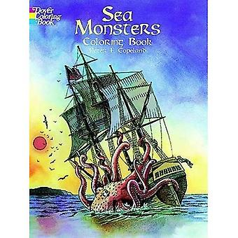 Sea Monsters Colouring Book (Dover Coloring Books)