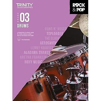 Trinity Rock & Pop 2018 trummor grad 3 - Trinity Rock & Pop 2018 (noter)