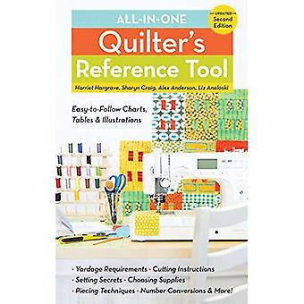 All-in-One Quilter's Reference Tool: Easy-to-follow Charts, Tables & Illustrations