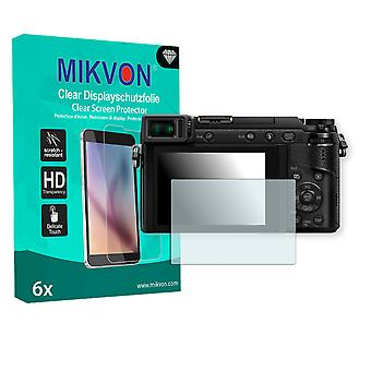 Panasonic Lumix DMC-G80 Screen Protector - Mikvon Clear (Retail Package with accessories)