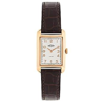 Rotary LS02699/01-wrist watch, woman, leather, color: Brown