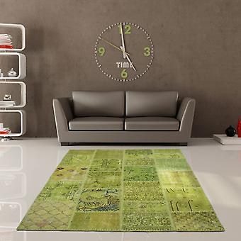 Rugs -Jumble Patchwork - 560 Green