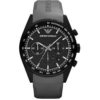 Emporio Armani Ar5978-mens Black Sportivo Chrono Watch