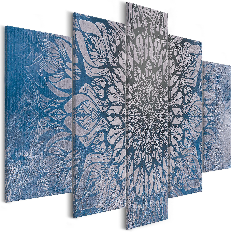 Tableau - Hypnosis (5 Parts) bleu grand