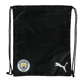 2019-2020 Manchester City Puma Gym Bag (Black)