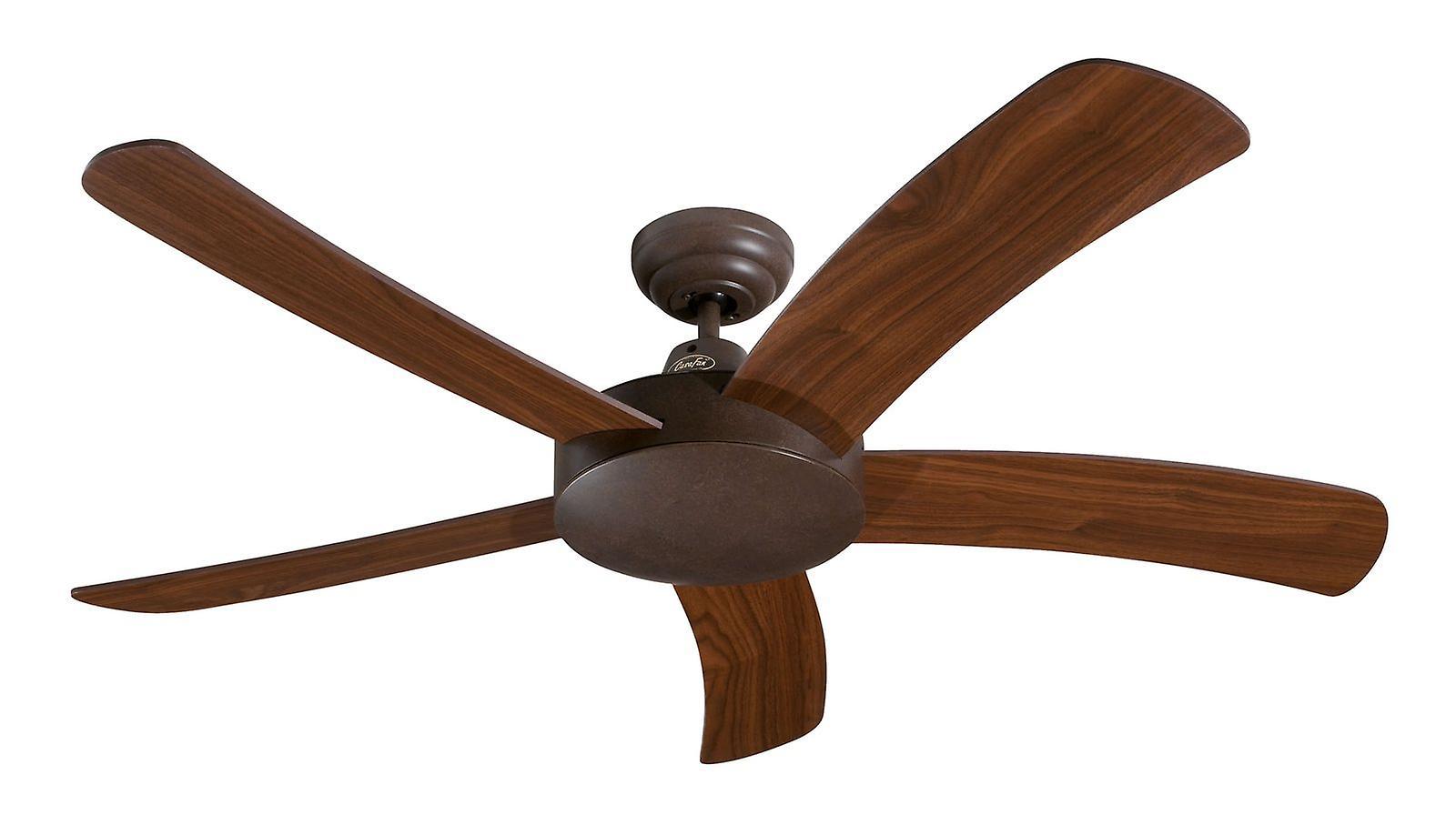 Ceiling Fan FALCETTO marron 132cm   52& 034; without control