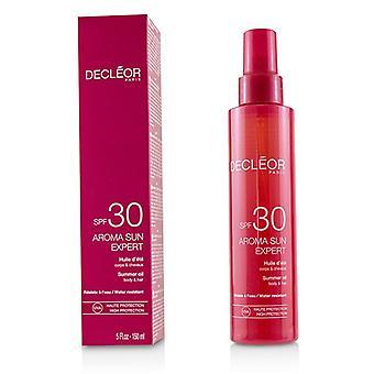 Decleor aroma Sun perito óleo de verão para o corpo & amp; Cabelo SPF 30-150ml/5oz