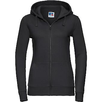Russell - Women's Ladies Authentic Zipped Hooded Sweatshirt