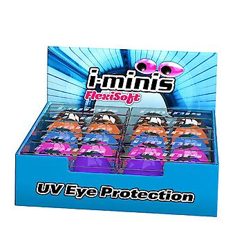I Minis Indoor & Outdoor Total UVA & UBV Protection Tanning Goggles - 1 Pair