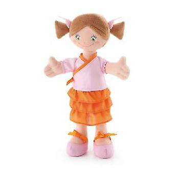 Trudi Brown cloth doll 30 cm with tails 30 Cm