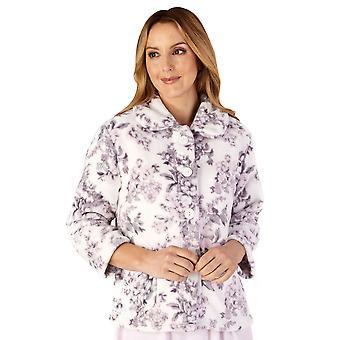 Slenderella BJ4310 Women's Housecoats Floral Bedjacket