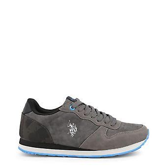 Hommes Polo US gris baskets--WILY706096