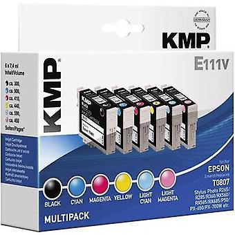 KMP Ink replaced Epson T0801, T0802, T0803, T0804, T0805, T0806, T0807 Compati